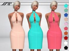 Marty P: Hally`s Dress • Sims 4 Downloads