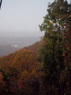 Blue Ridge in the fall