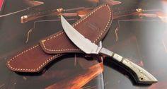 Таможня-нож-Антонио-Бандерас-один-из-рода-подлинный-Элк-Хорн-Скиннер-ААА-НР