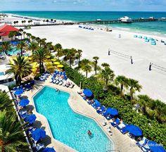 Hilton Clearwater Beach Resort Hotel in Clearwater Beach, Florida, Hotel