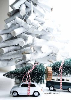Goodlives - Interior, Styling and DIY Christmas And New Year, All Things Christmas, White Christmas, Christmas Tree, Christmas Ideas, Fiat 500, Xmas Decorations, Happy New Year, Diys