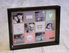 Project Life By Stampin' Up! Project Life Scrapbook, Project Life Cards, Paper Cards, Diy Cards, Baby Gift Hampers, Card Making Inspiration, Journal Cards, Altered Art, Photo Displays