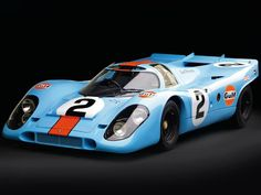 A LeMans Hero! one of my favorites Porsche 917K. The Porsche 917 is a racecar that gave Porsche its first overall wins at the 24 Hours of Le Mans in 1970 and 1971. Powered by the Type 912 flat-12 engine of 4.5, 4.9, or 5 litres, the 917/30 variant was capable of a 0-62 mph (100 km/h) time of 2.3 seconds, 0–124 mph (200 km/h) in 5.3 seconds, and a top speed of over 240 mph (390 km/h)