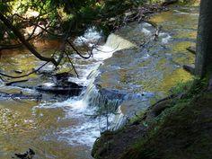 Haymeadow Falls, Michigan | The Waterfall Record