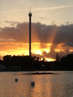 Heidepark Soltau... Sony Alpha 6000 Heide Park, Sony, Celestial, Sunset, Pictures, Outdoor, Photos, Outdoors, Sunsets