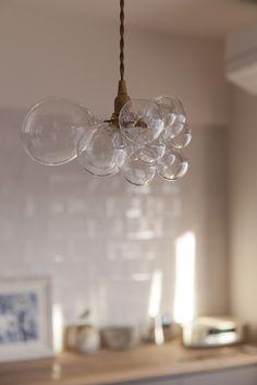 #ダイニング #kitchen #dining #オリジナルキッチン #照明 #リノベーション #EcoDeco #エコデコ #Y様邸清澄白河 Chandelier, Ceiling Lights, Lighting, Glass, House, Design, Home Decor, Candelabra, Decoration Home