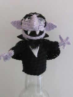 The Count Finger Muppet Pattern