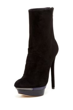 B Brian Atwood Fuveau Bootie I'd totally wear these!
