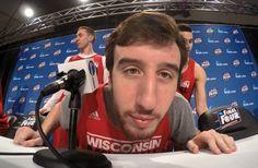 Frank Kaminsky, Wisconsin basketball's Napoleon Dynamite, and the triumph of the goofy - The Washington Post