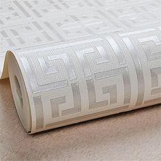 Vinil Wallpaper, Tile Wallpaper, Modern Wallpaper, Pattern Wallpaper, Hallway Wallpaper, Luxury Wallpaper, Wallpaper Samples, Designer Wallpaper, Geometric Wallpaper Silver