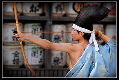 Kyūdō, the Japanese archery