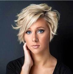 30 Short Haircuts for Round Faces