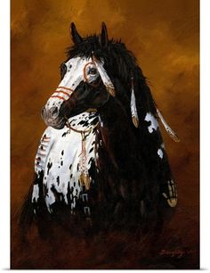 View the artwork of nationally known, Wisconsin native, wildlife artist Terry Doughty. Native American Horses, Native American Paintings, American Paint Horse, American Indians, Indian Horses, Horse Artwork, Painted Pony, Horse Drawings, American Indian Art