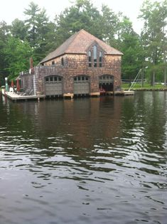 Too cool boat house
