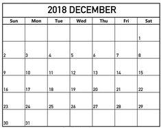 2018 calendar template calendar printable 2018 december calendar printable pictures pdf