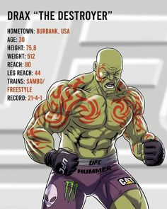 Ufc, Marvel Box, Marvel Dc Comics, Marvel Comic Character, Marvel Characters, Drax The Destroyer, Comic Book Collection, Superhero Design, Marvel Series
