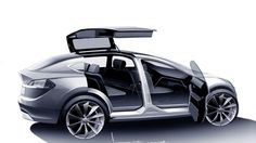 """""""The Model X is a particularly challenging car to build, maybe the hardest car to build in the world,"""" says Elon Musk."""