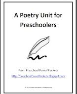 Poetry Unit for Preschoolers based on Shel Silverstein's Where the Sidewalk Ends - each lesson refers to a poem (10 total) and includes an activity suggestion and instruction for a writing project