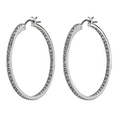 Swarovski Somerset Medium Hoop Pierced Earrings 1172369 ** Click on the image for additional details.