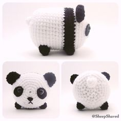 "107 Likes, 12 Comments - Teresa W (@sheepshaved) on Instagram: ""Panda inspired by Tsum Tsums~  {pattern will be available soon} #amigurumi #crafts #crochet…"""