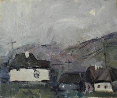 huts. Carpathians