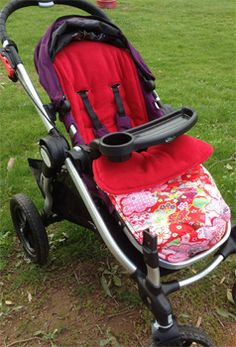 Baby Jogger City Select:  Fantastic manoeuvrability of a three-wheeler with the stability of a four-wheeler. Very reliable and well built.  + Easy fold option, steering, looks good, one brake, the hood/sun shade has excellent coverage, lots of accessories. - It's expensive, Velcro used on window.   Photographed with Kimono Blossom Red by Pramskins.