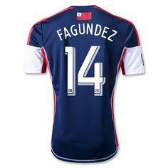 Diego Fagundez Primary 2013 Soccer Jersey $100.45