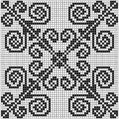 patrón de encaje final