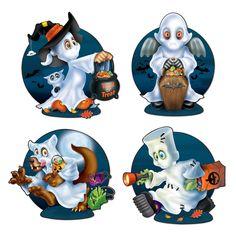 Cutout Set Geisterkids, 4er Pack
