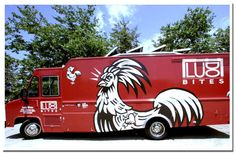 Ludotruck...if ever I'm in L.A. (French guy making fried chicken...and honey lavender biscuits)!