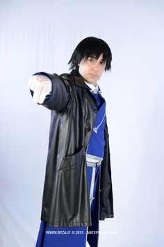 Personaggio: Roy Mustang Manga/Anime: Full Metal Alchemist