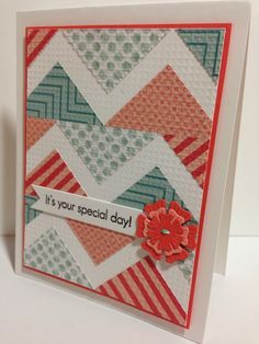 Cupcakes, Cards and Kim: One card for Saturday...