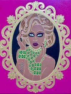 IF I WERE A QUEEN # V Queen V, I Am A Queen, Human Condition, Naive, Saatchi Art, Original Paintings, Disney Characters, Fictional Characters, Aurora Sleeping Beauty