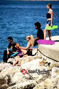 Street Surfing Beach Boards #beach #skateboards