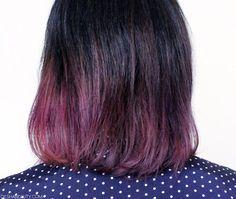 Just dyed my hair with Manic Panic Purple Haze!
