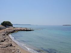 Beach at Voula.