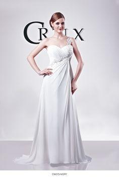 CRUX #Bridal Style CW273 shown in Ivory Chiffon