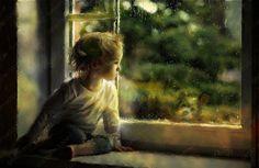 Sad Window by =Phatpuppyart on deviantART