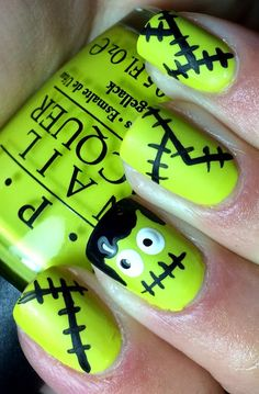 Nails by an OPI Addict: Frankensteins!