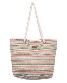 CROSSROADS BEACH BAG // bone -  Great beach bag with stylish woven stripe. Alana Blanchard, Must Have Items, Rip Curl, Fun Stuff, Bones, Giveaway, Style Me, Surfing, Ootd