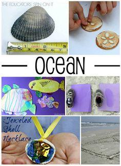 Ocean themed activities for preschoolers