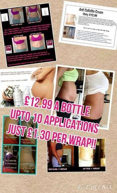 Anti Cellulite Wrap LOSE THOSE INCHES CelluliteTreatment