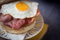 Breakfast bun - Brockhole café winter menu. Photo thanks to Tiree Dawson Photography.