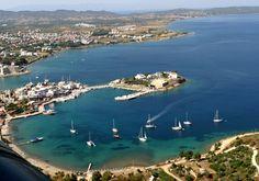 Havadan Datça Limanı