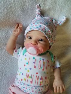 Reborn Baby Girl Smilla by Sabine Altenkirch Ultra Realistic Newborn Doll