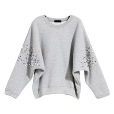 2015 Winter Fashion Rivet Fleece Sweatershirts Women Black Pullover Hoodies Long Sleeves Loose Clothes American Apparel