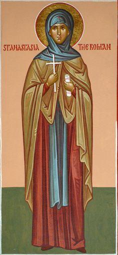 St. Anastasia the Roman by Dmitry Shkolnik  - October 29