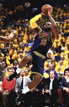 King James. LeBron James
