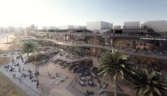 Gallery of Built by Associative Data Releases Plans for Mixed-Use Gastronomic Development - 1