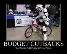 And the economic woes continue for the Galactic Empire.